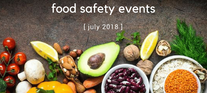 july food safety events